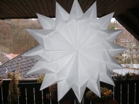 Weihnachtsdeko Preiswert Ein Stern Mit 16 Zacken