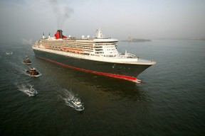 Queen Mary 2 in New York (Cunard Line)