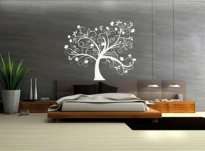 w nde selbst gestalten mit wandtattoos. Black Bedroom Furniture Sets. Home Design Ideas
