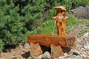 Brunnen Garten Holz – nmmrc.info