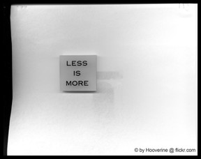 Less is more by Hooverine