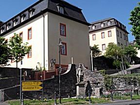 Urlaubsgebiet westerwald Burg hachenburg