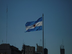 Flagge Argentinien, Quelle: Ultimapalabra
