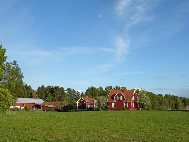warum sind schwedens h user rot. Black Bedroom Furniture Sets. Home Design Ideas