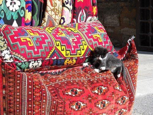 Die wohnung im orientalischen stil einrichten for Wohnstube einrichten