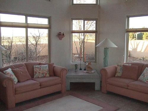 Wohnen und einrichten mit rosa rosafarbene akzente for Stilvoll wohnen und einrichten